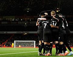 De Bruyne absolute uitblinker bij ruime zege City op Arsenal