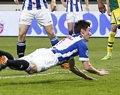 'Heerenveen-aanvaller vertrekt per direct naar Denemarken'