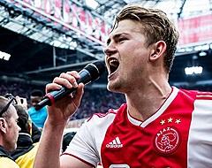 TRANSFERUURTJE: 'De Ligt uiterst populair, goed nieuws voor Ajax uit Spanje'