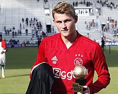 De Ligt: 'Er heerst een grafstemming in de kleedkamer van Ajax'