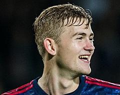 De Ligt leider bij Ajax: 'Allang geen talent meer'