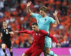 De Ligt: 'Mooi dat Cristiano Ronaldo dat deed'