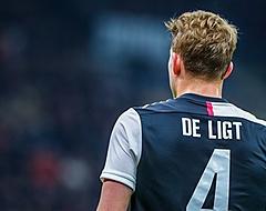 📸 Flinke hoofdwond De Ligt, Olympique Lyon profiteert direct