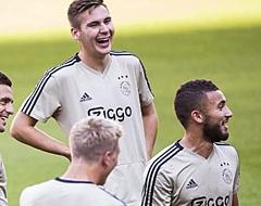 Zorgen bij Ajax: speler valt geblesseerd uit na flinke charge