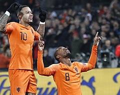 """Wijnaldum geniet bij Oranje: """"Ik ben sprakeloos"""""""