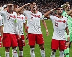 President Erdogan reageert op militair saluut Turkse ploeg