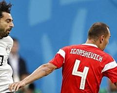 Eén speler maakt veel indruk bij Rusland - Egypte