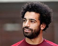 Mohamed Salah maakt jonge Liverpool-fan blij met shirtje