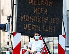 🎥 Feyenoord-fans hebben lak aan coronaregels bij open training