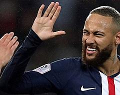 Neymar pakt rode kaart bij doelpuntrijke zege PSG