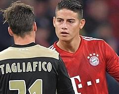 """James Rodríguez hint op terugkeer: """"Ik mis Madrid zeker"""""""