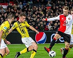 Feyenoord laat alwéér punten liggen: gelijkspel tegen VVV