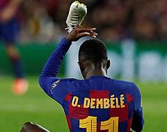 'FC Barcelona is helemaal klaar met Dembélé'