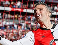"""Van Persie zwaait Feyenoorder uit: """"Wat een topper ben je"""""""