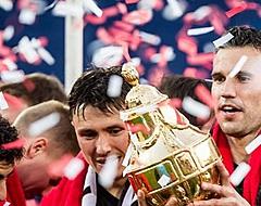 Van Persie laat Feyenoord-legioen schrikken na bekerwinst