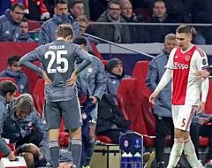 VIDEO: Wöber pakt oliedomme directe rode kaart, Ajax met 10 man verder