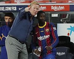 Spanje gaat gelijk los over Koeman na Barça-debuut