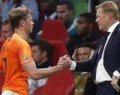 Koeman gaat Ajax-uitvaller 'beschermen voor duels' in Oranje