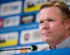 """Koeman kritisch: """"Hij is in Oranje niet zo goed als voor zijn club"""""""