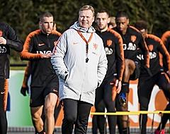 Domper voor Koeman: Oranje-speler moet training staken door blessure