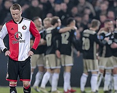 🎥 Feyenoord-fan met wel heel merkwaardig Ajax-shirt gaat viral