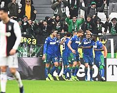 Wederom geen zege Juventus na chaotisch optreden tegen Sassuolo
