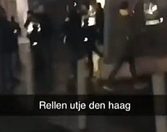 Misselijkmakende incidenten na Utrecht - ADO: vier agenten gewond geraakt