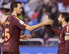 'FC Barcelona verdubbelt immense transferclausule Busquets'
