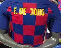 Frenkie de Jong legt de lat hoog bij Barça: 'Kan op alle middenveldposities'