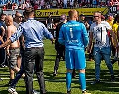 VIDEO: Schokkende beelden vanuit Kasteel, fans vallen eigen spelers aan