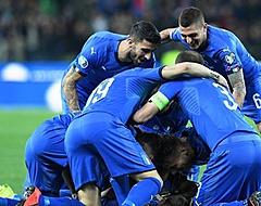 Italië wint eerste kwalificatieduel met 2-0 van Finland