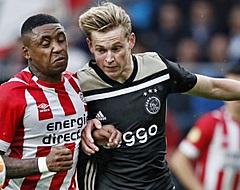 PSV-fans lopen massaal warm voor 'officieuze kampioenswedstrijd' in Amsterdam
