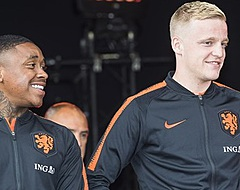 Van de Beek: 'Wel gekke praat gehad met Bergwijn over Ajax-geruchten'