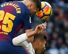 Vermaelen incasseert zoveelste tik bij FC Barcelona