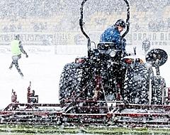 Bizar: KNVB wijst schuldige aan voor sneeuwproblemen