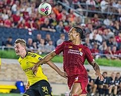 Van Dijk en Wijnaldum onderuit tegen Borussia Dortmund