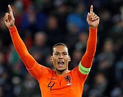 Van Dijk hecht weinig waarde aan spel Oranje: 'EK gehaald'