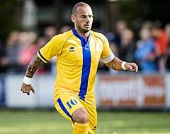 """Sneijder belooft: """"Dán ben ik binnen drie maanden fit"""""""