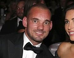 Sneijder blijft in contact met Yolanthe: 'We zien wat er gaat gebeuren'
