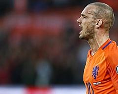 Sneijder: 'Dan had ik naast Lionel Messi en Cristiano Ronaldo gestaan'