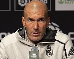 Zidane choqueert met opstelling Real, fans snappen er niks van