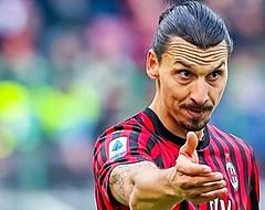 'Ibrahimovic denkt aan vertrek uit Italië'
