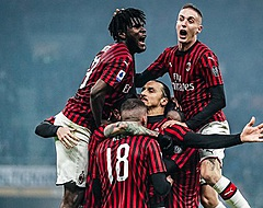 Morsend Napoli ziet AC Milan in punten gelijk komen