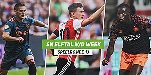 Foto: SN Elftal van de Week: Ajax dendert door, nieuwe Feyenoord-held staat op
