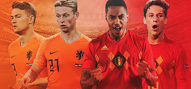 Foto: Oranje versus België: wie gaat de mooiste toekomst tegemoet?