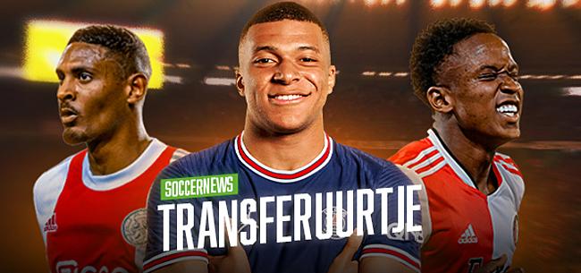 Foto: TRANSFERUURTJE: Ajax moet 40 miljoen aftikken, Feyenoord-record
