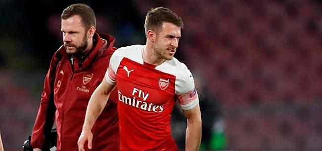 Foto: 'Stijlloos afscheid voor Ramsey dreigt bij Arsenal'