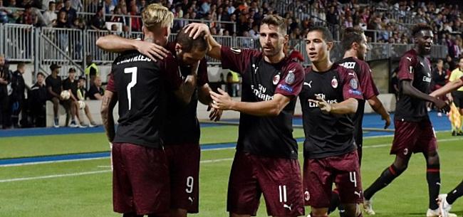 Foto: Groep F: AC Milan komt héél goed weg in dwergstaat