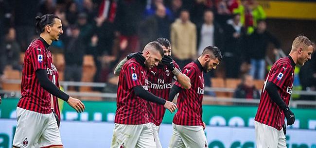 Foto: Milan lijkt titelaspiraties Lazio definitief de kop in te drukken