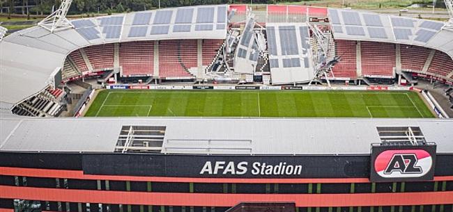 Foto: 'AZ wist dat stadiondak niet berekend was op zonnepanelen'